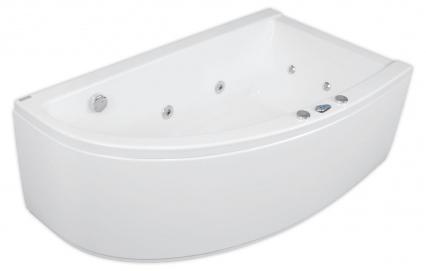 Laura 150 x 90 R Silver 1 NaviВанны<br>Ванна Pool Spa серия Laura, в комплект входит: ванна и рама.<br>Электронное управление. Водный массаж:<br>&amp;#8722; ротационные форсунки для спины.<br>&amp;#8722; ротационные форсунки для стоп.<br>&amp;#8722; боковые форсунки с возможностью регулировки направления водной струи. <br>&amp;#8722; независимая регулировка интенсивности массажа спины, боков и стоп аэрацией.<br>&amp;#8722; пульсационный массаж.<br>&amp;#8722; датчик уровня воды.<br>&amp;#8722; защита от сухого запуска насоса.<br>&amp;#8722; отвод воды после купания из системы водного массажа.<br>Запрограммированное время купания 30 минут.<br>