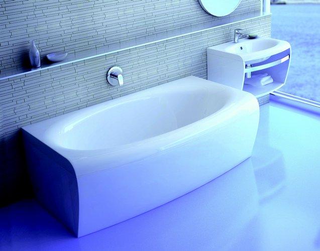 Акриловая ванна Ravak Evolution 180 белая 180 акриловая ванна ravak domino plus 170х75 белая c631r00000