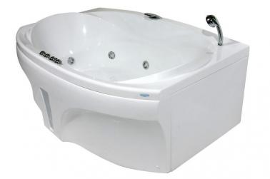 Sicilia без гидромассажа (хром)Ванны<br>Полиакриловая ванна Doctor Jet Sicilia. Стоимость указана за ванну на раме со сливом переливом, без гидромассажа и фронтальной панели. Фурнитура хром.<br>