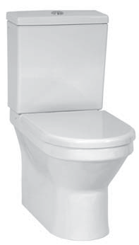 S 50 9739B003-0227 Белый (сиденье стандартное)Унитазы<br>Vitra 9739B003-0227 S 50 Унитаз пристенный с бачком и сиденьем из дюропласта.<br>