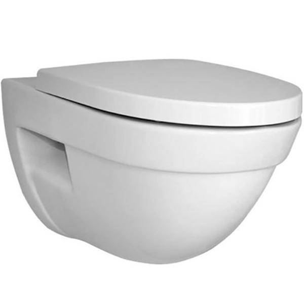Form 500 4305B003-0075 подвесной без сиденьяУнитазы<br>Унитаз подвесной Vitra Form 500 4305B003-0075.<br>Особенности: <br>Повышенная прочность изделия.<br>Комплектация: <br>Чаша унитаза.<br>