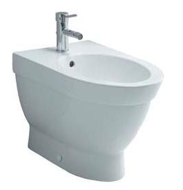 Form 500 4306B003-0290 БелоеБиде<br>Биде напольное Vitra Form 500 4306B003-0290 с боковыми отверстиями.<br>