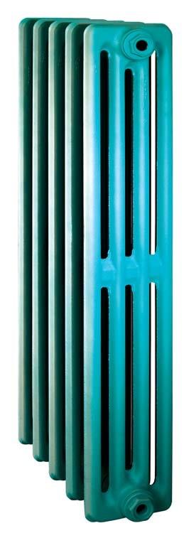 Derby CH 900/160 x11Радиаторы отопления<br>Стоимость указана за 11 секций. Чугунный секционный радиатор RETROstyle Derby CH 900/160 980x660x160 мм с боковым подключением. Межосевое расстояние - 900 мм. Радиаторы поставляются покрытые грунтовкой выбранного цвета. Дополнительно могут быть окрашены в один из цветов палитры RAL (глянец), NCS (матовый), комбинированные (основной цвет + акцент на узорах), покраска с патинацией (old gold; old silver, old cupper) и дизайнерское декорирование. Установочный комплект приобретается дополнительно.<br>