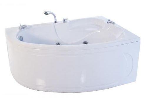 Николь Белая LВанны<br>Акриловая ванна «НИКОЛЬ» левая. В комплект входит: слив/перелив и каркас. Глубина ванны: 480 мм. Широкая спинка, площадка для установки смесителя, лицевой экран. Дополнительное оборудование, предусмотренное к установке: гидромассаж 6 форсунок, аэромассаж 10 форсунок, спинной массаж 6 форсунок, смеситель на 3 и 4 позиции, подсветка 1 свет, хромотерапия 4 цвета, высококачественный карниз, ручка, подголовник на присосках (цвет белый, салатовый, синий).<br>