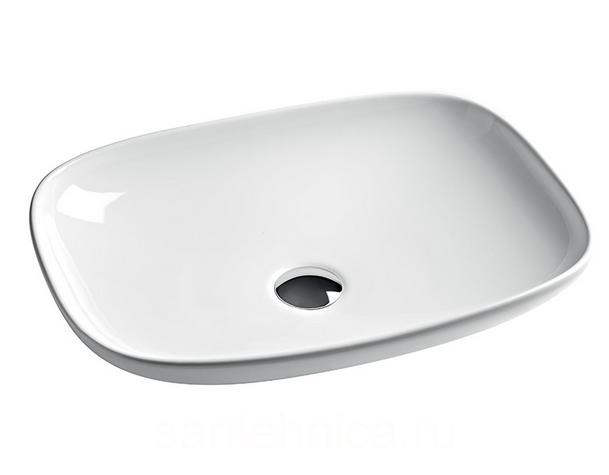 La Fontana LFL006 01 00 БелыйРаковины<br>Накладная раковина Artceram La Fontana LFL006 01 00. Форма – прямоугольник со скругленными углами, цвет исполнения – белый.<br>