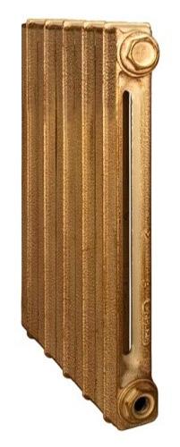 Toulon 500/070 x6Радиаторы отопления<br>Стоимость указана за 6 секций. Чугунный секционный радиатор RETROstyle Toulon 500/070 580x360x70 мм с боковым подключением. Межосевое расстояние - 500 мм. Радиаторы поставляются покрытые грунтовкой выбранного цвета. Дополнительно могут быть окрашены в один из цветов палитры RAL (глянец), NCS (матовый), комбинированный (основной цвет + акцент на узорах), покраска с патинацией (old gold; old silver, old cupper) и дизайнерское декорирование. Установочный комплект приобретается дополнительно.<br>