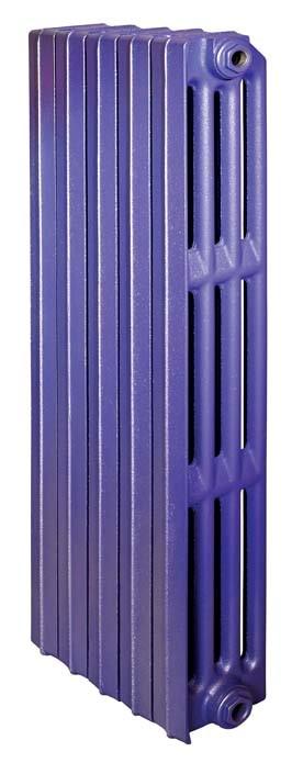 Lille 813/130 x2Радиаторы отопления<br>Стоимость указана за 2 секции. Чугунный секционный радиатор RETROstyle Lille 813/130 873x120x130 мм с боковым подключением. Межосевое расстояние - 813 мм. Радиаторы поставляются покрытые грунтовкой выбранного цвета. Дополнительно могут быть окрашены в один из цветов палитры RAL (глянец), NCS (матовый), комбинированный (основной цвет + акцент на узорах), покраска с патинацией (old gold; old silver, old cupper) и дизайнерское декорирование. Установочный комплект приобретается дополнительно.<br>