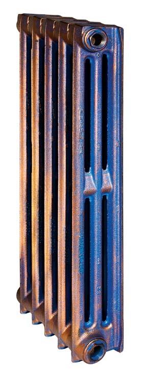 Lille 500/095 x3Радиаторы отопления<br>Стоимость указана за 3 секции. Чугунный секционный радиатор RETROstyle Lille 500/095 560x180x95 мм с боковым подключением. Mежосевое расстояние - 500 мм. Радиаторы поставляются покрытые грунтовкой выбранного цвета. Дополнительно могут быть окрашены в один из цветов палитры RAL (глянец), NCS (матовый), комбинированный (основной цвет + акцент на узорах), покраска с патинацией (old gold; old silver, old cupper) и дизайнерское декорирование. Установочный комплект приобретается дополнительно.<br>