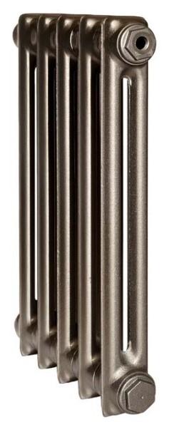Derby CH 500/070 x5Радиаторы отопления<br>Стоимость указана за 5 секций. Чугунный секционный радиатор RETROstyle Derby CH 500/070 580x300x70 мм с боковым подключением. Межосевое расстояние - 500 мм. Радиаторы поставляются покрытые грунтовкой выбранного цвета. Дополнительно могут быть окрашены в один из цветов палитры RAL (глянец), NCS (матовый), комбинированные (основной цвет + акцент на узорах), покраска с патинацией (old gold; old silver, old cupper) и дизайнерское декорирование. Установочный комплект приобретается дополнительно.<br>