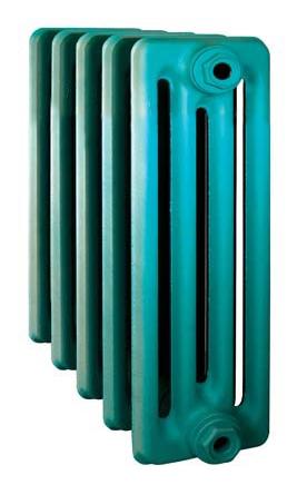 Derby CH 350/160 x11Радиаторы отопления<br>Стоимость указана за 11 секций. Чугунный секционный радиатор RETROstyle Derby CH 350/160 430x660x160 мм с боковым подключением. Межосевое расстояние - 350 мм. Радиаторы поставляются покрытые грунтовкой выбранного цвета. Дополнительно могут быть окрашены в один из цветов палитры RAL (глянец), NCS (матовый), комбинированный (основной цвет + акцент на узорах), покраска с патинацией (old gold; old silver, old cupper) и дизайнерское декорирование. Установочный комплект приобретается дополнительно.<br>