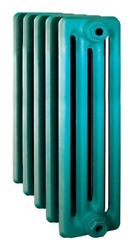 Derby CH 500/160 x11Радиаторы отопления<br>Стоимость указана за 11 секций. Чугунный секционный радиатор RETROstyle Derby CH 500/160 580x660x160 мм с боковым подключением. Межосевое расстояние - 500 мм. Радиаторы поставляются покрытые грунтовкой выбранного цвета. Дополнительно могут быть окрашены в один из цветов палитры RAL (глянец), NCS (матовый), комбинированный (основной цвет + акцент на узорах), покраска с патинацией (old gold; old silver, old cupper) и дизайнерское декорирование. Установочный комплект приобретается дополнительно.<br>