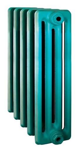 Derby CH 600/160 x11Радиаторы отопления<br>Стоимость указана за 11 секций. Чугунный секционный радиатор RETROstyle Derby CH 600/160 680x660x160 мм с боковым подключением. Межосевое расстояние - 600 мм. Радиаторы поставляются покрытые грунтовкой выбранного цвета. Дополнительно могут быть окрашены в один из цветов палитры RAL (глянец), NCS (матовый), комбинированный (основной цвет + акцент на узорах), покраска с патинацией (old gold; old silver, old cupper) и дизайнерское декорирование. Установочный комплект приобретается дополнительно.<br>