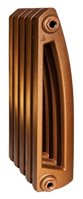 Chamonix 500/130 x5Радиаторы отопления<br>Стоимость указана за 5 секций. Чугунный секционный радиатор RETROstyle Chamonix 500/130 580x300x130 мм с боковым подключением. Межосевое расстояние - 500 мм. Радиаторы поставляются покрытые грунтовкой выбранного цвета. Дополнительно могут быть окрашены в один из цветов палитры RAL (глянец), NCS (матовый), комбинированный (основной цвет + акцент на узорах), покраска с патинацией (old gold; old silver, old cupper) и дизайнерское декорирование. Установочный комплект приобретается дополнительно.<br>