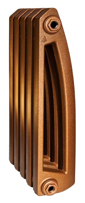 Chamonix 500/130 x8Радиаторы отопления<br>Стоимость указана за 8 секций. Чугунный секционный радиатор RETROstyle Chamonix 500/130 580x480x130 мм с боковым подключением. Межосевое расстояние - 500 мм. Радиаторы поставляются покрытые грунтовкой выбранного цвета. Дополнительно могут быть окрашены в один из цветов палитры RAL (глянец), NCS (матовый), комбинированный (основной цвет + акцент на узорах), покраска с патинацией (old gold; old silver, old cupper) и дизайнерское декорирование. Установочный комплект приобретается дополнительно.<br>