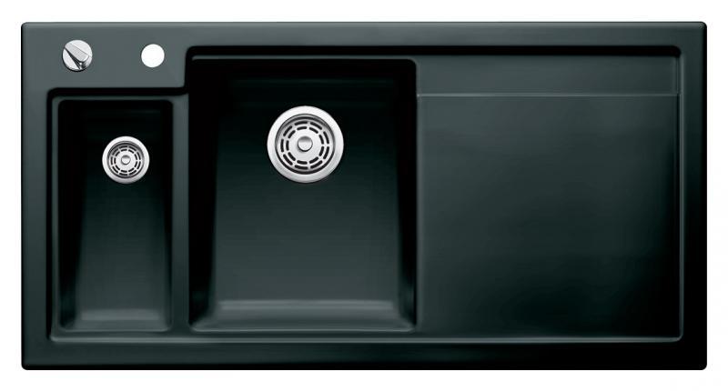 Кухонная мойка Blanco Axon II 6 S 516555 Черная
