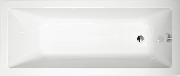Noemi 160x70 БелаяВанны<br>Ванна акриловая Alpen Noemi 160x70 прямоугольная.<br>
