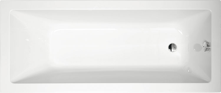 Noemi 170x70 БелаяВанны<br>Ванна акриловая Alpen Noemi 170x70 прямоугольная.<br>