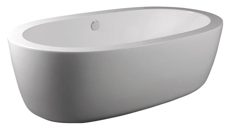 Rohia 187x98 БелаяВанны<br>Ванна акриловая Alpen Rohia 187x98 овальная. Цена указана только за ванну, все дополнительное оборудование приобретается отдельно.<br>