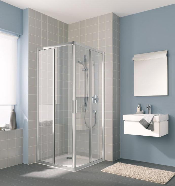 Душевая дверь Kermi Cada XS CK E2L 09020 VPK Хром/стекло прозрачное R