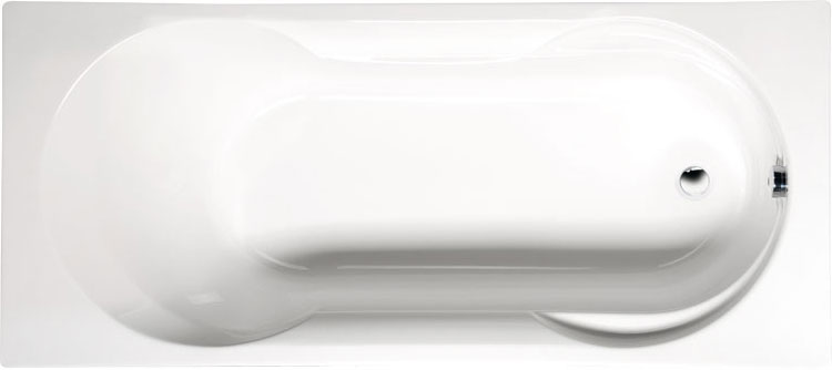 Satina 180x80 БелаяВанны<br>Ванна акриловая Alpen Satina 180x80 прямоугольная.<br>