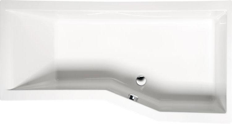 Versys 170x85 R БелаяВанны<br>Ванна акриловая Alpen Versys 170x85 R асимметричной формы.<br>
