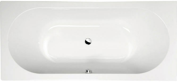 Viva B 185x80 БелаяВанны<br>Ванна акриловая Alpen Viva B 185x80 асимметричной формы.<br>