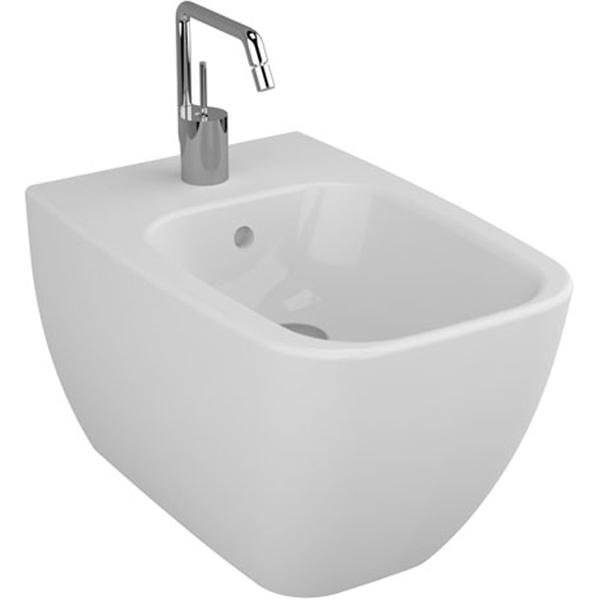 Shift 4398B003-0288 напольное БелоеБиде<br>Биде Vitra Shift 4398B003-0288 напольное.<br>Современный дизайн изделия прекрасно впишется в интерьер любой ванной комнаты.<br>Материал: санфарфор толщиной 18 мм, не впитывающий грязь.<br>Одно отверстие под смеситель.<br>Слив-перелив.<br>