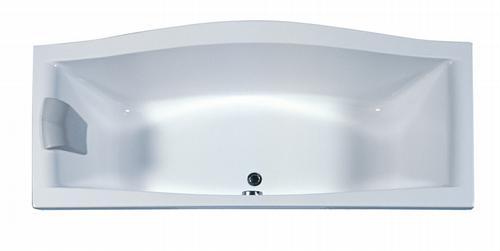 Magnolia 180 белая PU-PLUS 180Ванны<br>Акриловая ванна Ravak Magnolia 180. Технология PU Plus - замена слоя стекловолокна, который укрепляет акриловую ванну, жесткой полиуретановой пеной. Слив расположен посередине, что позволяет принимать ванну вдвоём.<br>