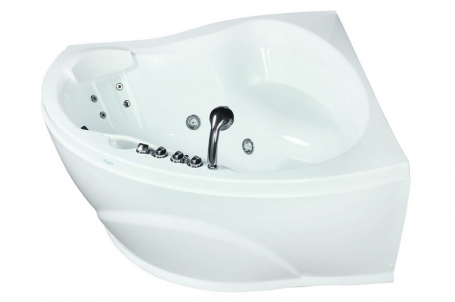 Gioia 1 150x150 без гидромассажа (белая)Ванны<br>Полиакриловая ванна Doctor Jet Gioia 1. Стоимость указана за ванну на раме со сливом переливом, без гидромассажа и фронтальной панели. Фурнитура белая.<br>