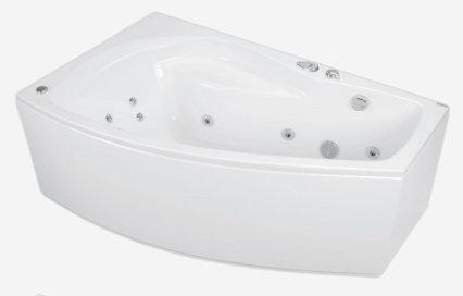 Nicole 160 x 95 L Economy 2Ванны<br>Ванна Pool Spa серия Nicole, в комплект входит: ванна и рама.<br>Пневматическое управление. Водный массаж:<br>&amp;#8722; ротационные форсунки для спины.<br>&amp;#8722; ротационные форсунки для стоп.<br>&amp;#8722; боковые форсунки с возможностью регулировки направления водной струи. <br>&amp;#8722; независимая регулировка интенсивности массажа спины, боков и стоп аэрацией.<br>&amp;#8722; защита от сухого запуска насоса.<br>&amp;#8722; отвод воды после купания из системы водного массажа.<br>Воздушный массаж:<br>&amp;#8722; компрессор с подогревателем воздуха.<br>&amp;#8722; автоматическая озонация воды (озонатор встроен в компрессор).<br>&amp;#8722; система отведения воды после купания из воздушных каналов.<br>
