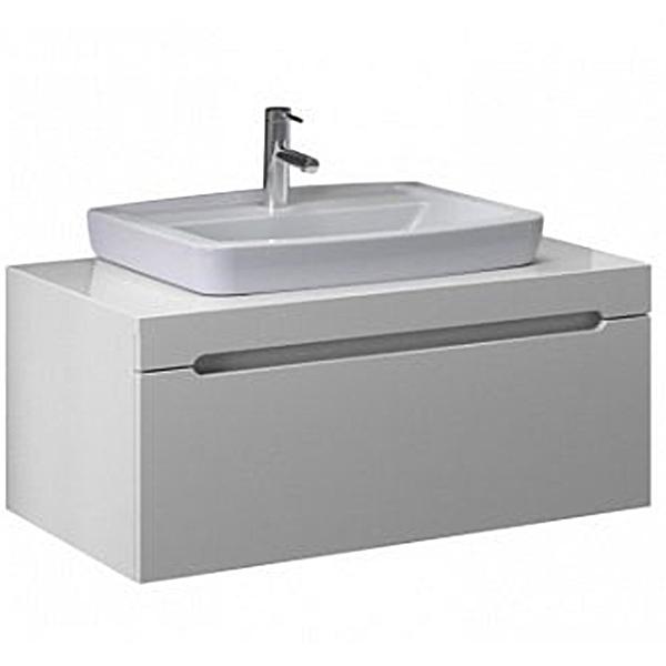 Casa 80 Белый глянецМебель для ванной<br>Тумба с раковиной Vitra Casa 56082.<br>Современный и универсальный стиль тумбы дополнит интерьер любой ванной комнаты.<br>Размер: 80х50х43 см. <br>В комплекте поставки:<br>тумба,<br>раковина 5276B003-0861.<br>