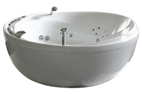 Enigma без гидромассажа (золото)Ванны<br>Полиакриловая ванна Doctor Jet Enigma. Стоимость указана за ванну на раме со сливом переливом, без гидромассажа и фронтальной панели. Фурнитура золото.<br>