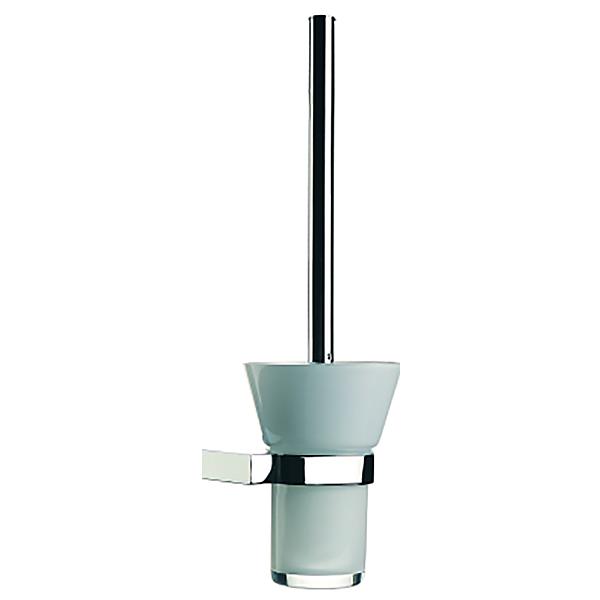 Diagon A44437EXP ХромАксессуары для ванной<br>Ёршик для унитаза Vitra Diagon A44437EXP.<br>Универсальный и лаконичный дизайн изделия дополнит интерьер любой ванной комнаты.<br>Материал: латунь, стекло.<br>