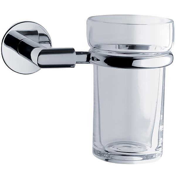 Minimax A44780EXP ХромАксессуары для ванной<br>Стакан для зубных щеток Vitra Minimax A44780EXP.<br>Универсальный и лаконичный дизайн изделия дополнит интерьер любой ванной комнаты.<br>Материал: латунь, стекло.<br>