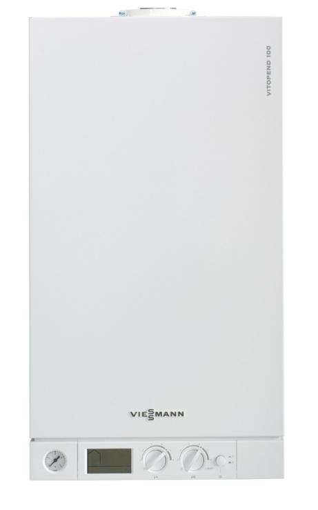 Котел VIESSMANN Vitopend 100-W WH1D269 Белый газовый котёл viessmann 100 w a1hb u rlu 24 квт