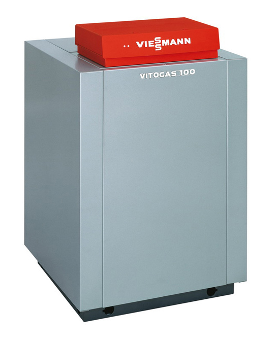 лучшая цена Котел VIESSMANN Vitogas 100-F GS1D883 Хром