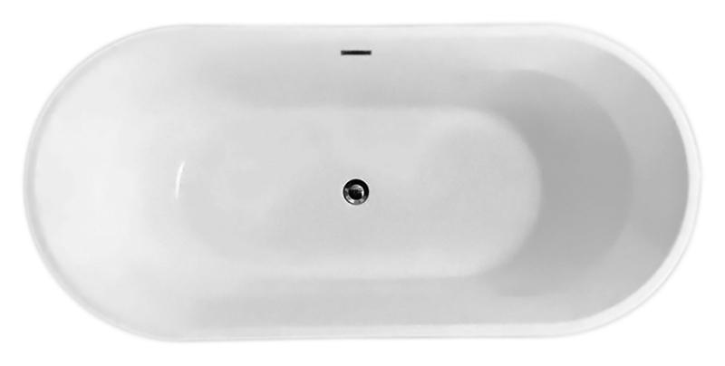 BB40-1700 biancoВанны<br>Ванна BelBagno BB40-1700 белая, из листового высококачественного акрила. Акрил за счет своей низкой теплопроводности значительно повышает комфорт принятия ванны и предоставляет массу удовольствия своим владельцам. Необычная форма ванны подчеркивает элегантность и создает атмосферу красоты.<br>