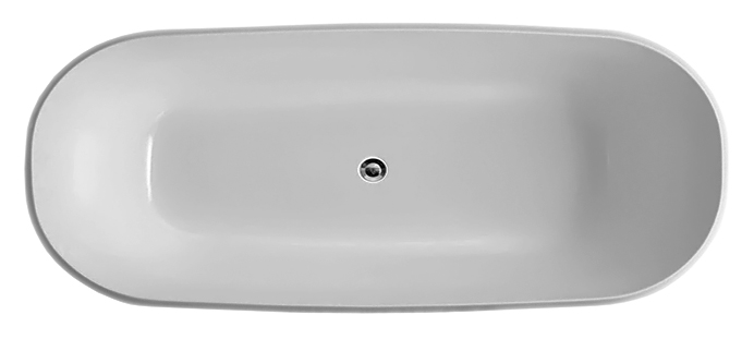 BB41-1700 170x80 biancoВанны<br>Ванна BelBagno BB41-1700 белая, из листового высококачественного акрила. Акрил за счет своей низкой теплопроводности значительно повышает комфорт принятия ванны и предоставляет массу удовольствия своим владельцам. Необычная форма ванны подчеркивает элегантность и создает атмосферу красоты.<br>