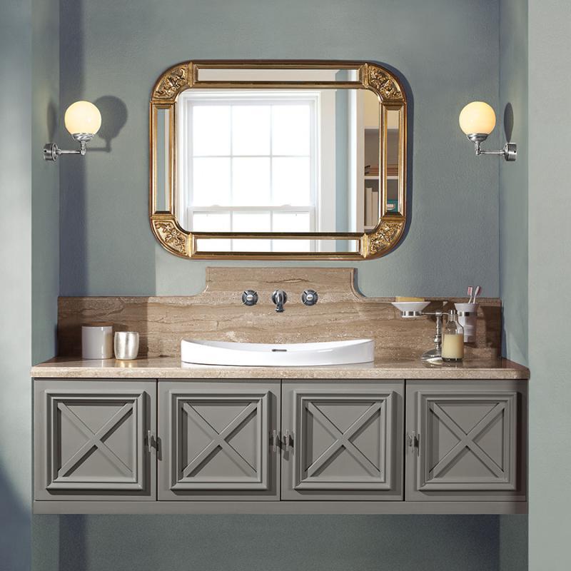 Наполи 150 без столешницы BLUE PASTELLO vintage (B 044)Мебель для ванной<br>Мебель для ванной Каприго Наполи 150 без столешницы и раковины. В стоимость входит тумба подвесная под раковину. Размеры – 1496x423x540 мм. Отделка – BLUE PASTELLO vintage. Варианты мебельных ручек – В 08, В 15, В 16 В.<br>