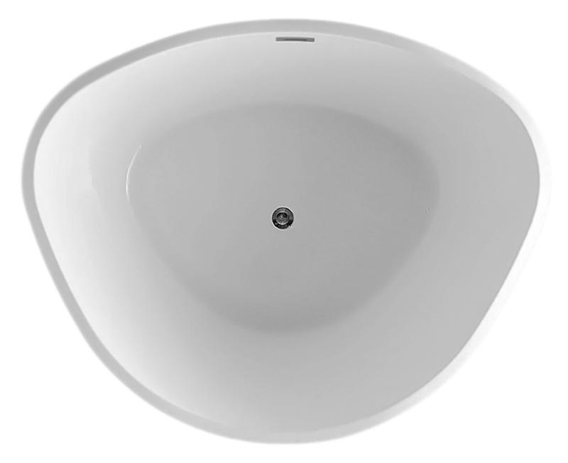BB47 150x125 biancoВанны<br>Ванна BelBagno BB47-1500 белая, из листового высококачественного акрила. Акрил за счет своей низкой теплопроводности значительно повышает комфорт принятия ванны и предоставляет массу удовольствия своим владельцам. Необычная форма ванны подчеркивает элегантность и создает атмосферу красоты.<br>
