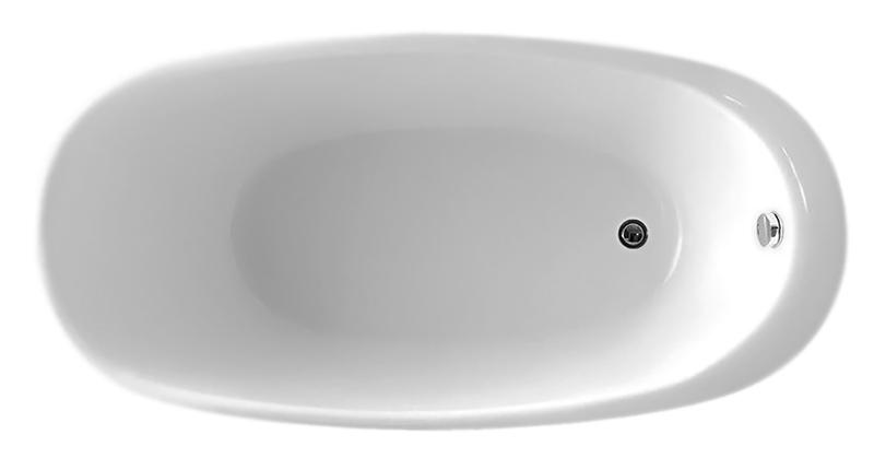 BB50-1700 biancoВанны<br>Ванна BelBagno BB50-1700 белая с широким бортиком для ванных принадлежностей или для смесителя. Ванна изготовлена из листового высококачественного акрила. Акрил за счет своей низкой теплопроводности значительно повышает комфорт принятия ванны и предоставляет массу удовольствия своим владельцам. Необычная форма ванны подчеркивает элегантность и создает атмосферу красоты.<br>