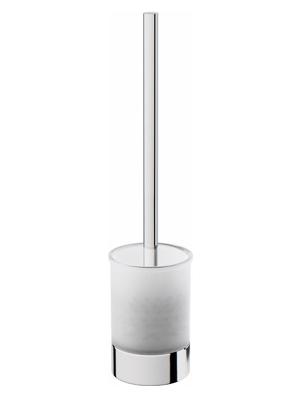 Like A8033200 ХромАксессуары для ванной<br>Стойка с туалетной щеткой AM PM Like A8033200. Первая дизайнерская коллекция аксессуаров в сегменте эконом. Массивные формы стекла делают стойку более функциональной.<br>