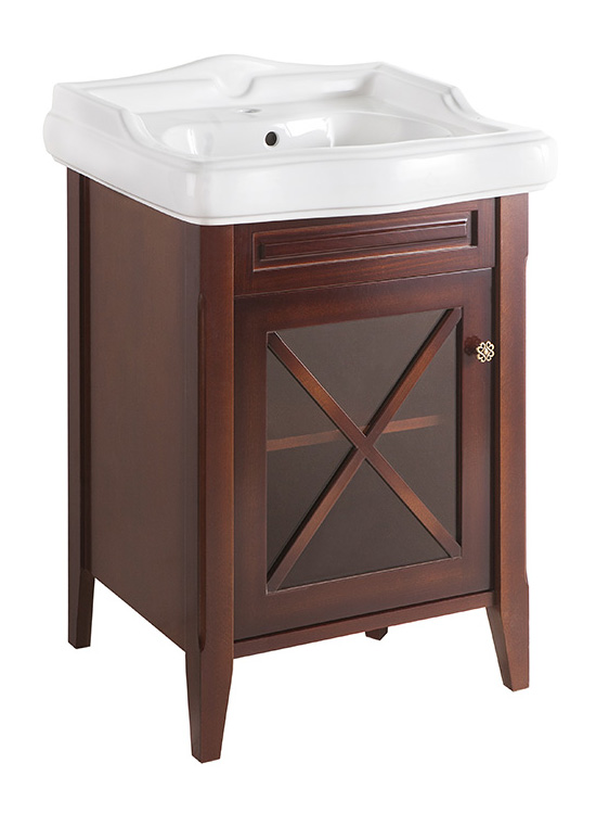 Наполи 60 BLUE PASTELLO vintage (B 044)Мебель для ванной<br>Мебель для ванной Каприго Наполи 60. В стоимость входит тумба напольная под раковину. Размеры – 576x775x542 мм. Отделка – BLUE PASTELLO vintage. Варианты мебельных ручек – В 08, В 15, В 16 В. Размер тумбы с раковиной 610x926x525 мм.<br>