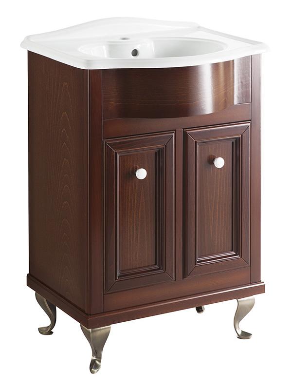 Порто 60 BIANCO porto (B 040)Мебель для ванной<br>Мебель для ванной Каприго Наполи 60. В стоимость входит тумба напольная под раковину. Размеры – 564x870x439 мм. Ручка – В 12. Отделка – BIANCO porto. Размер тумбы с раковиной 610x930x465 мм.<br>