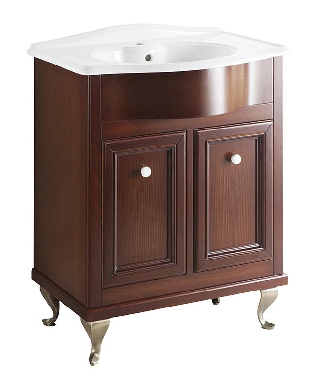 Порто 70 BIANCO porto (B 040)Мебель для ванной<br>Мебель для ванной Каприго Наполи 70. В стоимость входит тумба напольная под раковину. Размеры – 664x870x439 мм. Ручка – В 12. Отделка – BIANCO porto. Размер тумбы с раковиной 710x930x465 мм.<br>