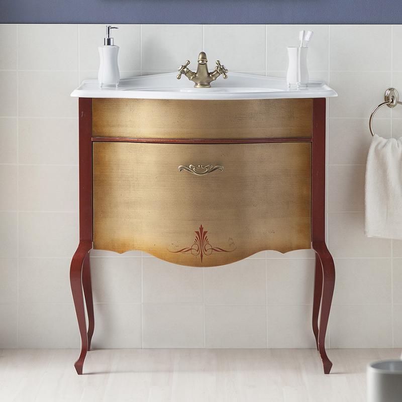 Бурже 70 NERO lucido (B 032)Мебель для ванной<br>Мебель для ванной Каприго Бурже 70. В стоимость входит тумба напольная под раковину. Размеры – 706х850х431 мм. Отделка – NERO lucido. Варианты мебельных ручек – В 19, В 20В, В 20S.<br>