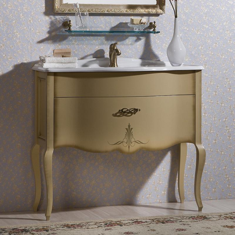Бурже 80 NERO lucido (B 032)Мебель для ванной<br>Мебель для ванной Каприго Бурже 80. В стоимость входит тумба напольная под раковину. Размеры – 806х850х455 мм. Отделка – NERO lucido. Варианты мебельных ручек – В 19, В 20В, В 20S. Размер тумбы с раковиной 810x925x465 мм.<br>