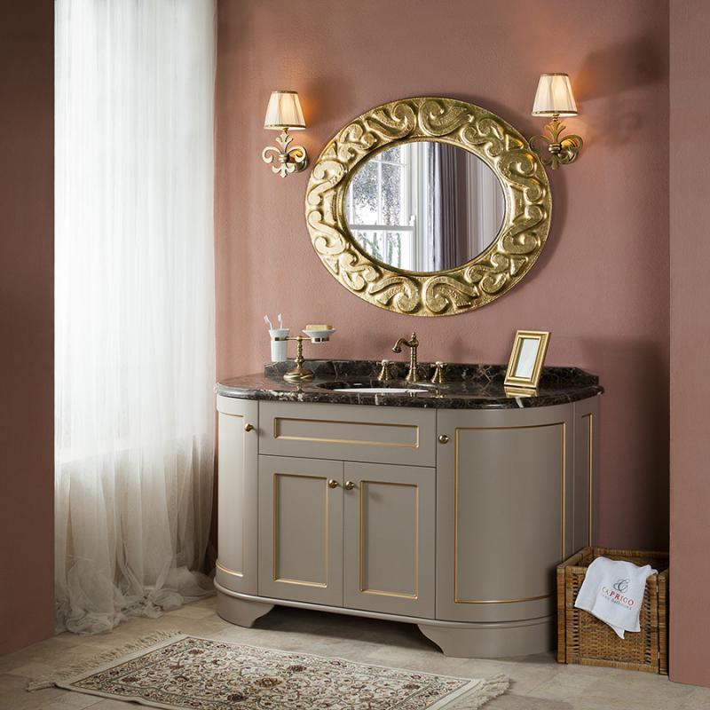 Richmond 140 Richmond 140Мебель для ванной<br>Мебель для ванной Каприго Richmond 140. В стоимость входит тумба напольная под раковину (3 модуля) без столешницы и раковины. Размеры – 1370x840x570 мм.<br>