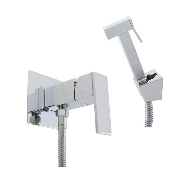 Гигиенический душ со смесителем Rav Slezak Loira LR547 Хром гигиенический душ со смесителем ideal standard ceraplan b0040aa хром