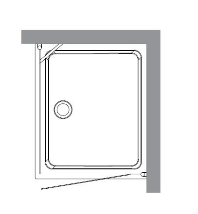 Retro 9143 S1 профиль золото стекло матовоеДушевые ограждения<br>Душевой уголок Kerasan Retro 9143 S1.<br>